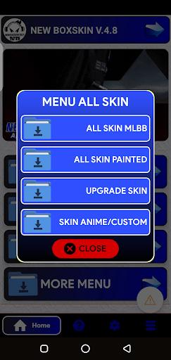 Screenshot of Skin Custom Anime App