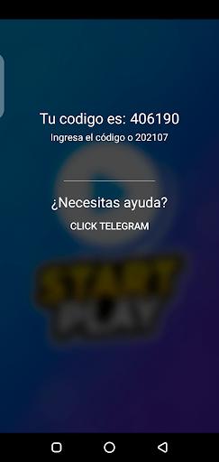 Screenshot of Start Play App