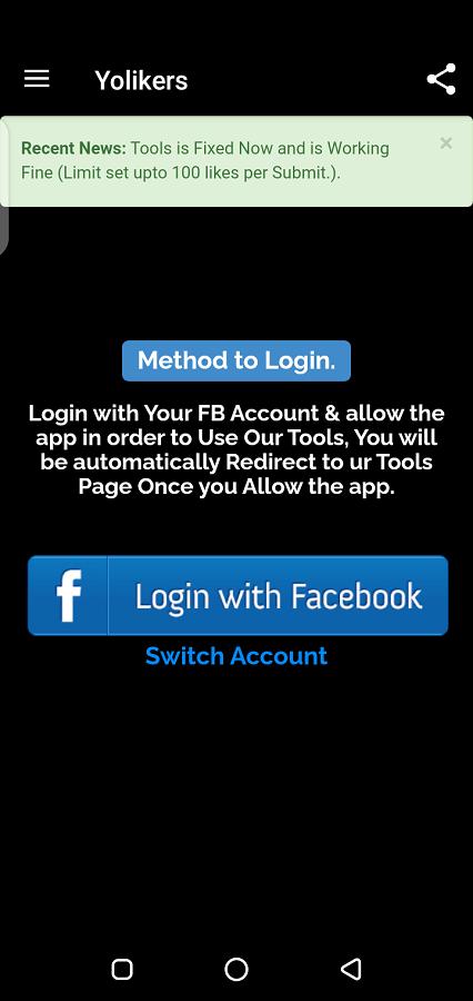 Screenshot of Your Liker Download