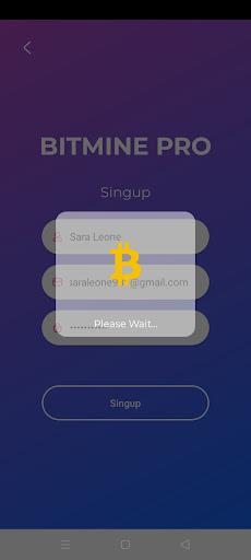 Screenshot of BitMine Pro App