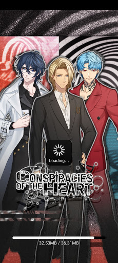 Screenshot of Conspiracies of the Heart Mobile
