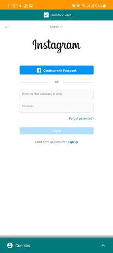 Screenshot of SocialTop