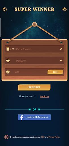 Screenshot of Super Winner Android