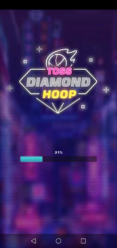 Screenshot of Toss Diamond Hoop Apk
