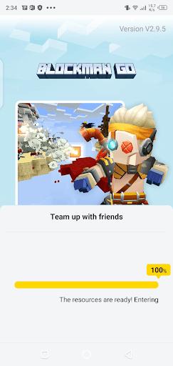 Screenshot of Blockman Go Adventures Apk