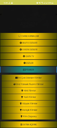 Screenshot of By IPTV Pro Android