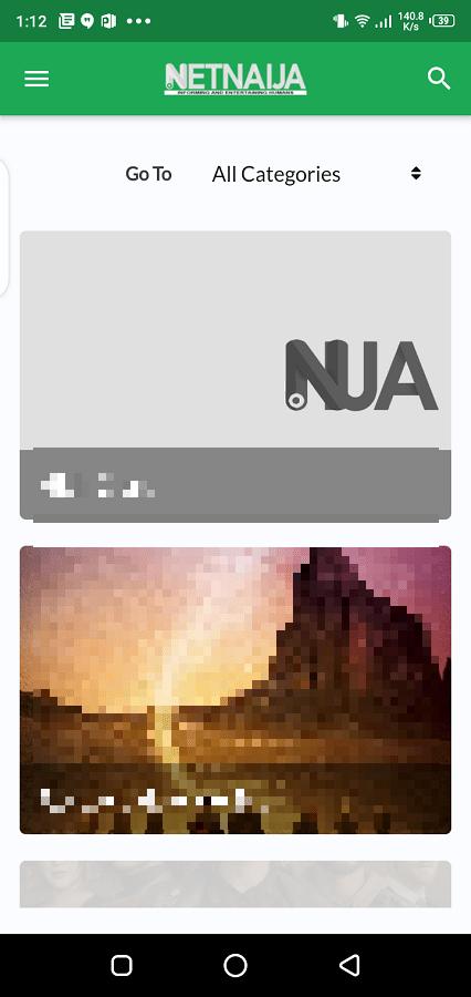 Screenshot of Netnaija Movie Apk
