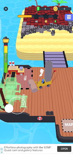 Screenshot of Stone Miner Game