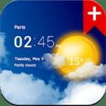 Transparent clock weather v1.99.11 APK Paid