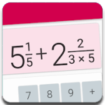 Fractions Calculator detailed solution available v2.10 Pro APK