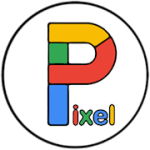 Pixel Carbon  Icon Pack v1.04 APK Patched