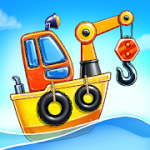 Build an Island Kids Games for Boys Build House v1.1.10 Mod (Ads Free) Apk