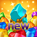Jewels fantasy Easy and funny puzzle game v1.7.1 Mod (Free Shopping) Apk