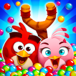 Angry Birds POP Bubble Shooter v3.84.4 Mod (Unlimited Gold + Lives + Boost) Apk