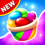 Candy Blast Mania Match 3 Puzzle Game v1.4.0 Mod (Unlimited Money) Apk