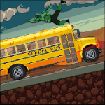 Drive or Die Zombie Pixel Earn to Racing v1.02 Mod (Unlimited Money) Apk