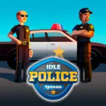 Idle Police Tycoon Cops Game v1.0.1  Mod (Unlimited Money) Apk