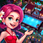 Game Little Paradise Resort Management Management abdi v1.9.30 Mod (Emas Unlimited + Intan) Apk