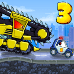Car Eats Car 3 Racing Simulator Fast Drive v2.6 Mod (Unlimited Money) Apk