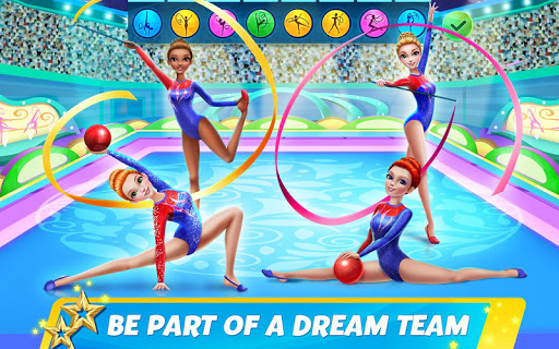 Rhythmic Gymnastics Dream Team Girls Dance 1.0.5 screenshots 4