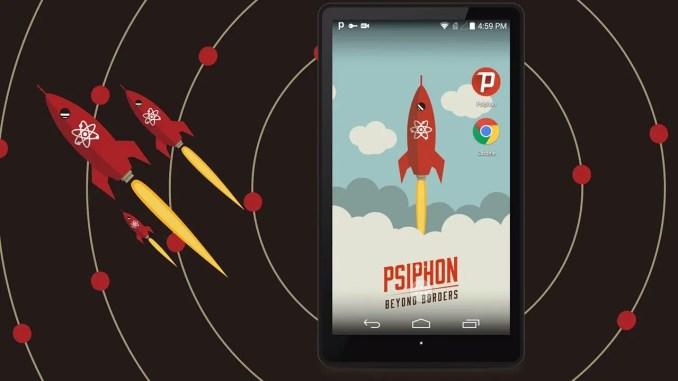 Psiphon Pro The Internet Freedom VPN screen 0