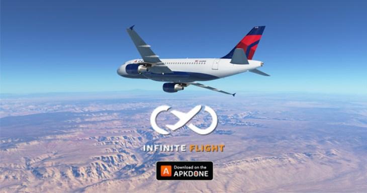 Infinite flight simulator poster