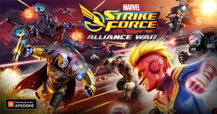 Marvel Strike Force poster
