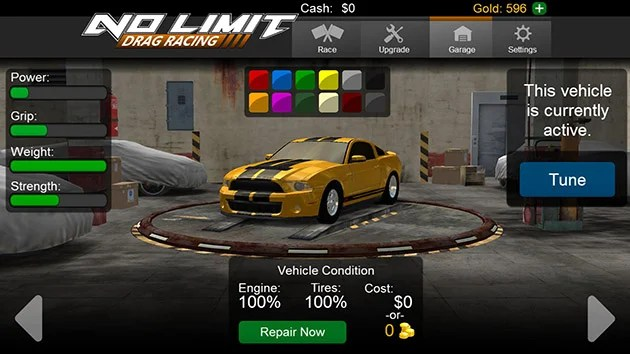 No Limit Drag Racing Screenshots 3
