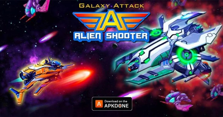 Galaxy Attack Alien Shooter Poster
