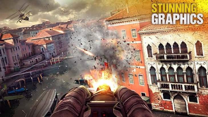 Modern Combat 5 screenshot 4