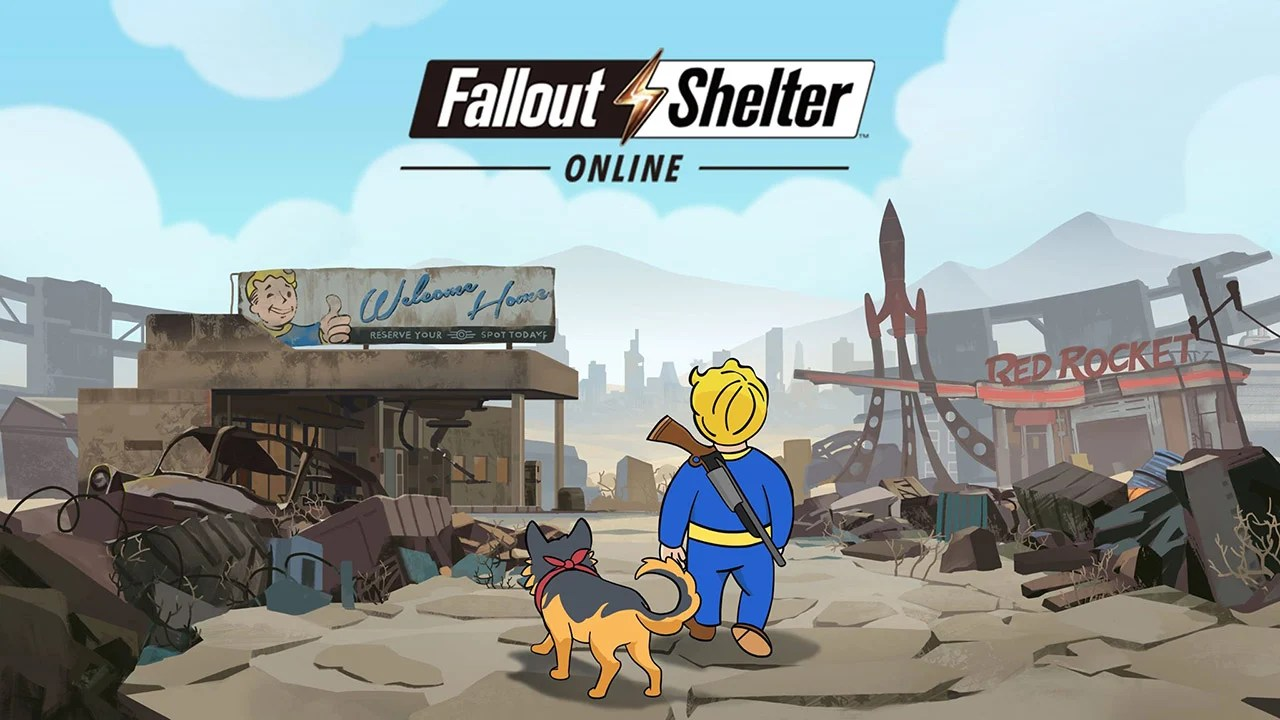 Fallout Shelter online poster