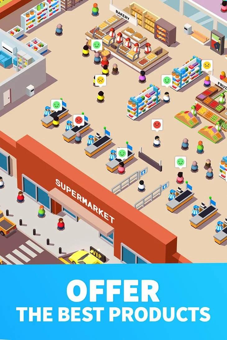 Inactive supermarket giant screenshot