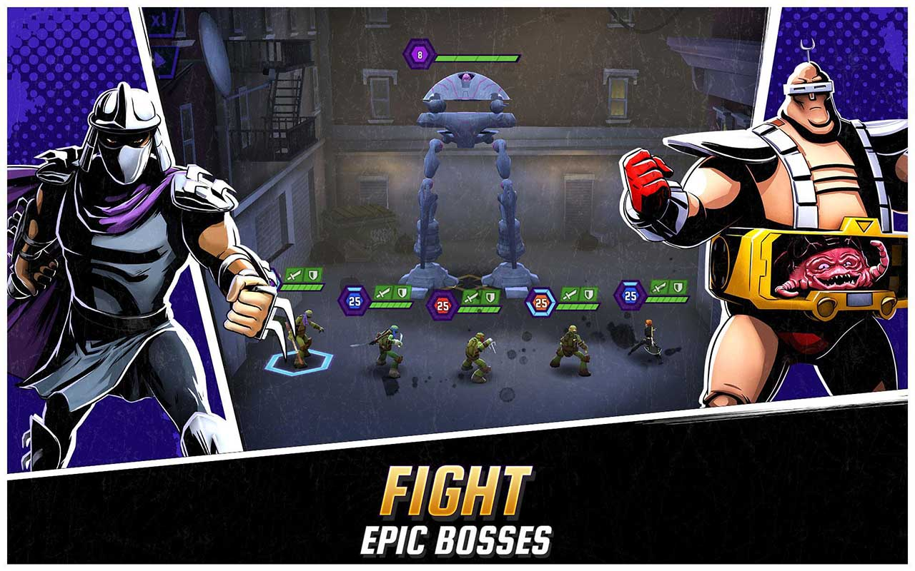 Ninja Turtles Legends Screenshots 2