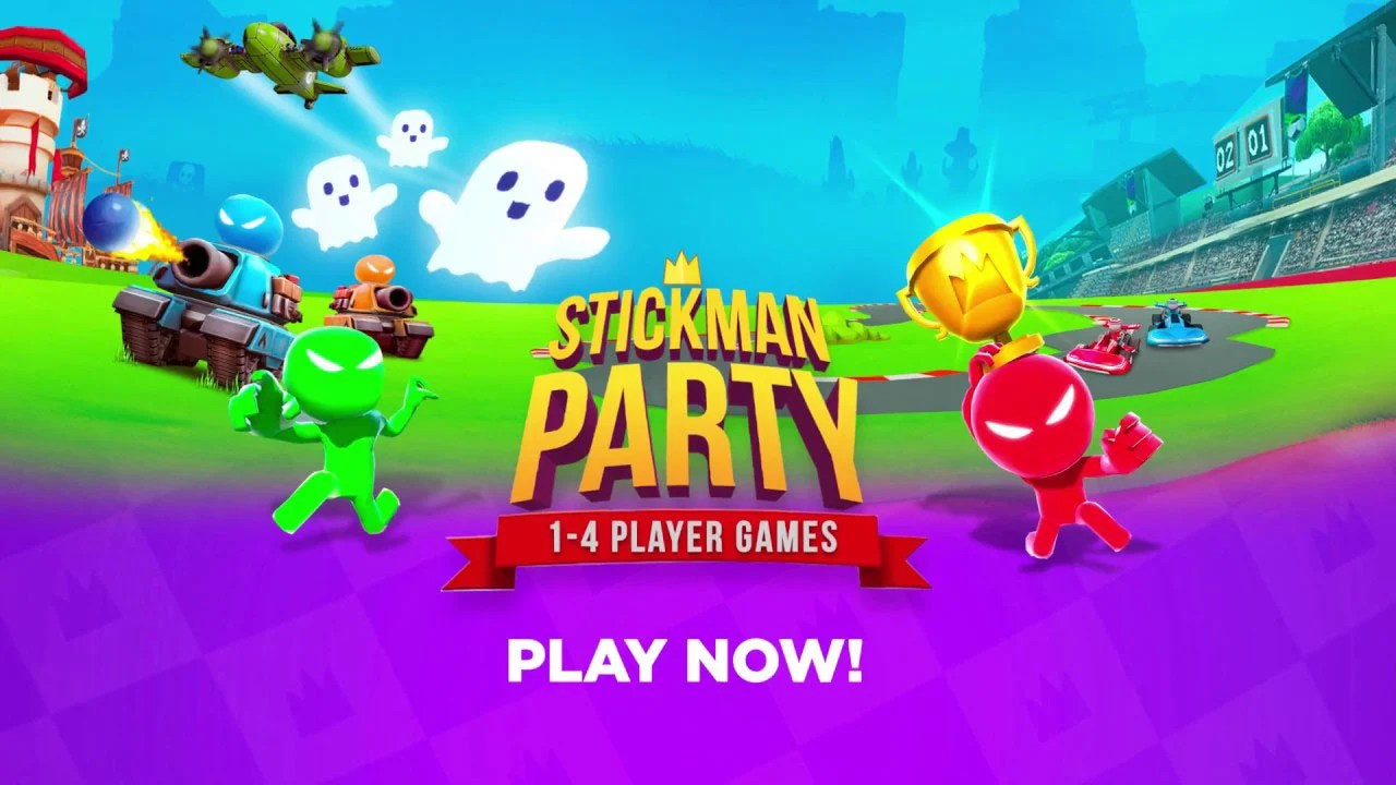Stickman party poster