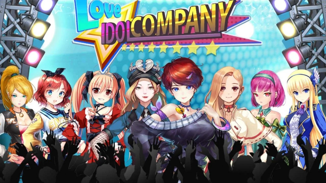 Girl Group Inc. Love Capop Idol Poster