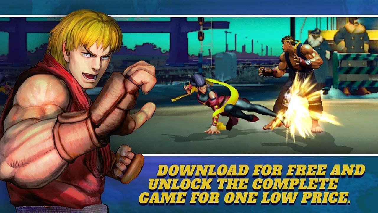 Street Fighter IV Champion Edition Screen 0