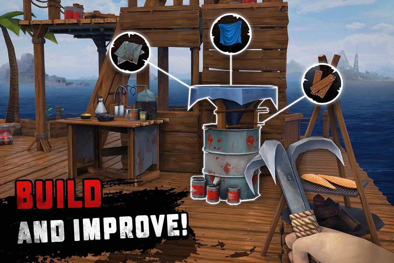 Survival 4 on raft screenshots