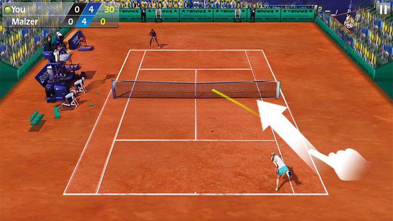 3D Tennis Screen 2