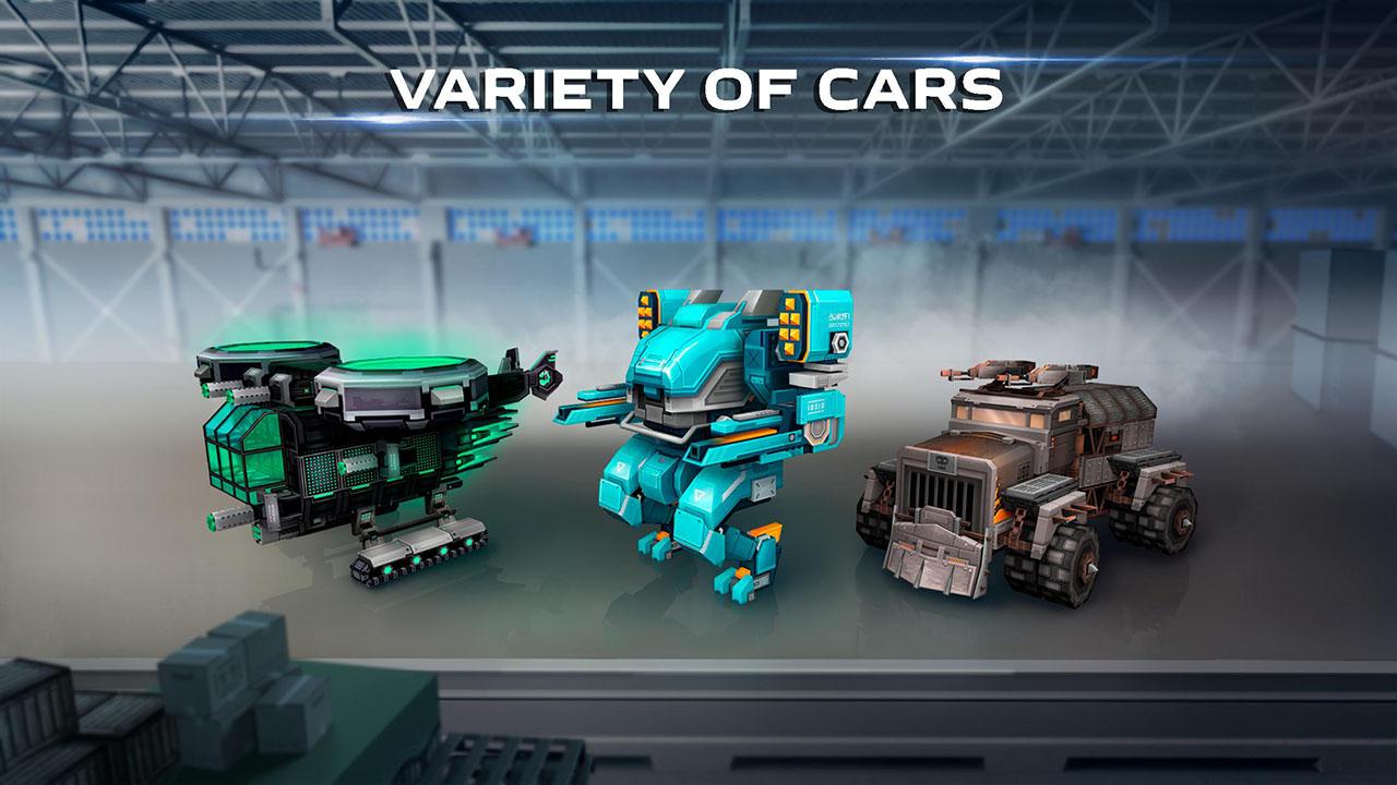 Blocky Car Screen 4