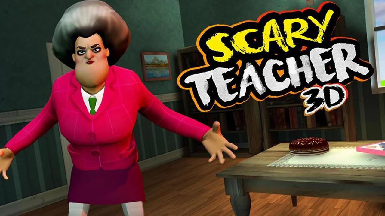 Scary Teacher 3D Poster