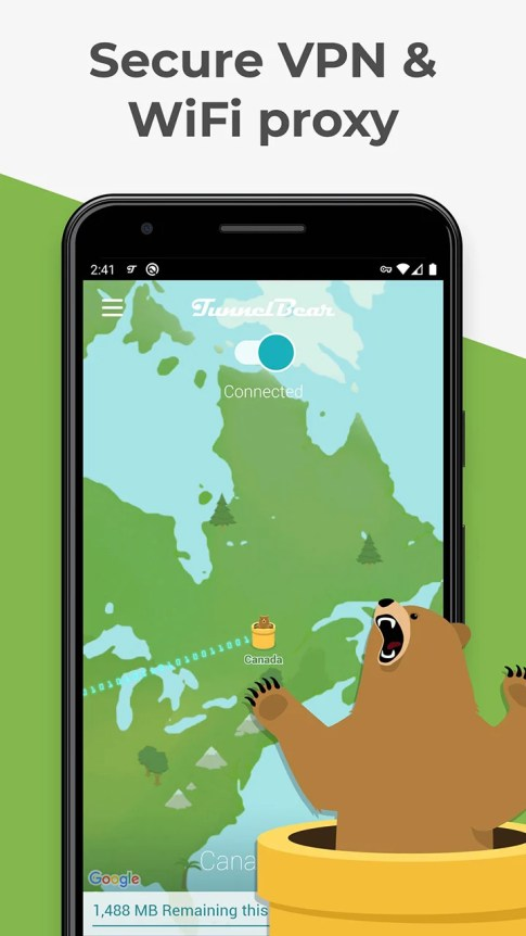 TunnelBear MOD APK 3.5.29 (Premium) download free for Android