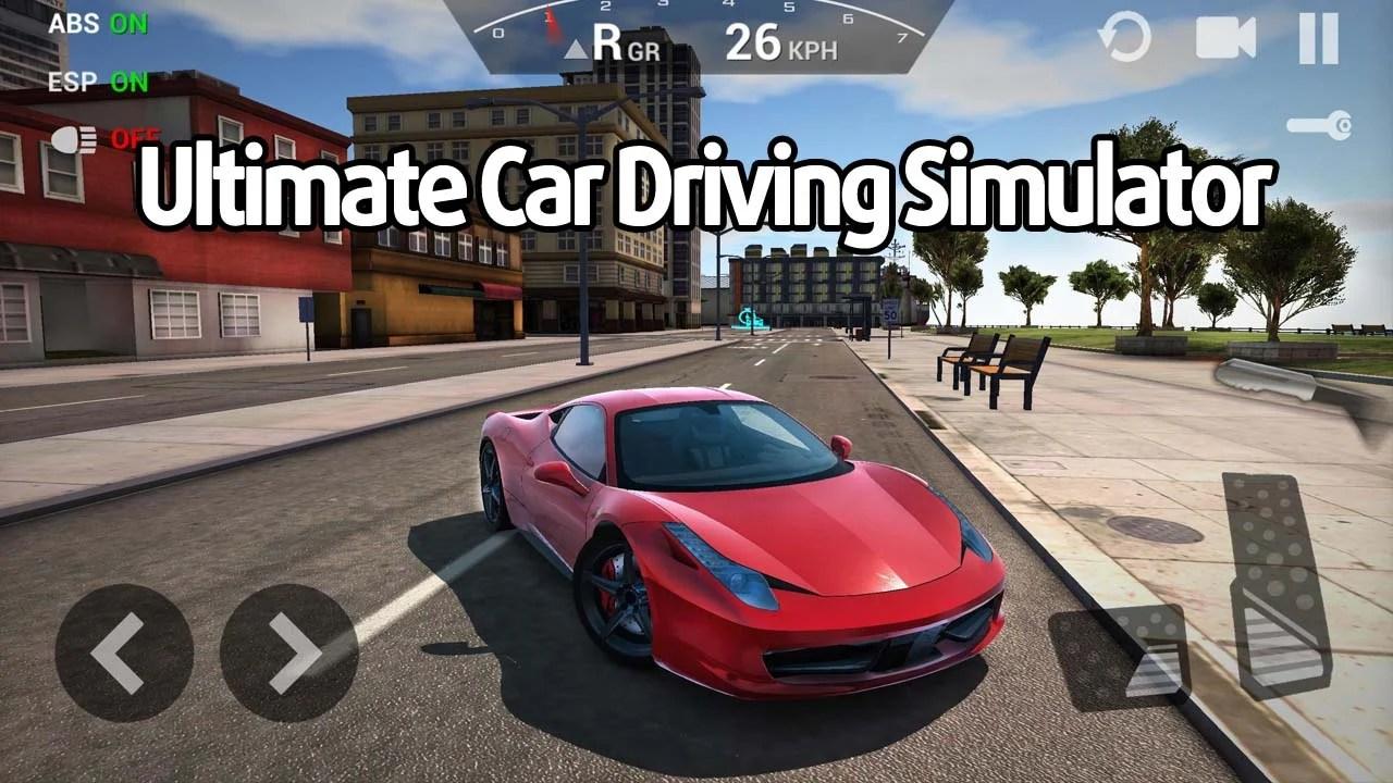Ultimate Car Driving Simulator Poster