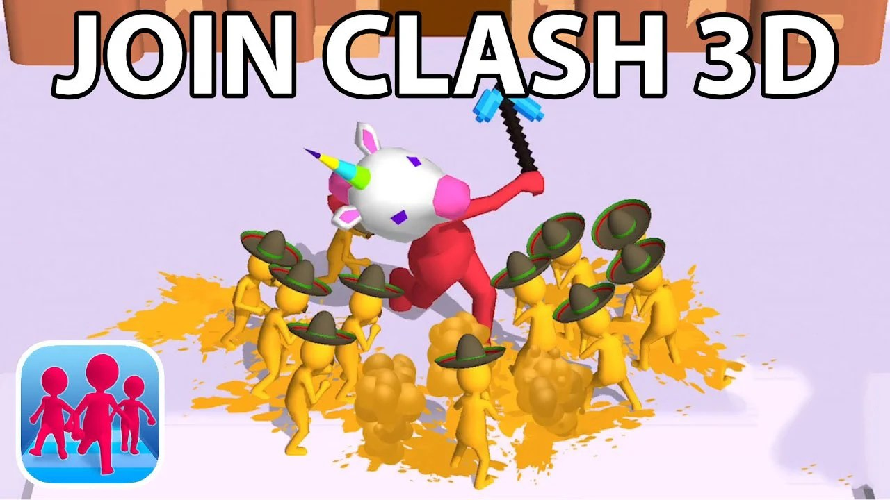 Join the Clash 3D poster