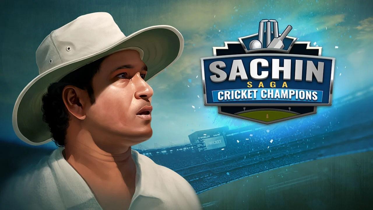 Poster of Sachin Saga Cricket Champions
