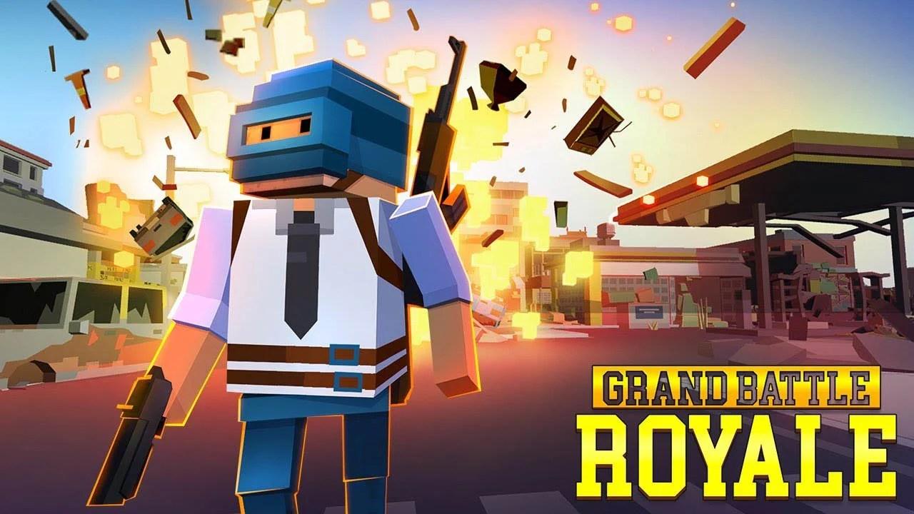 Grand Battle Royal Poster