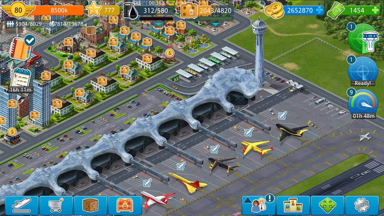 Airport City Screen 3