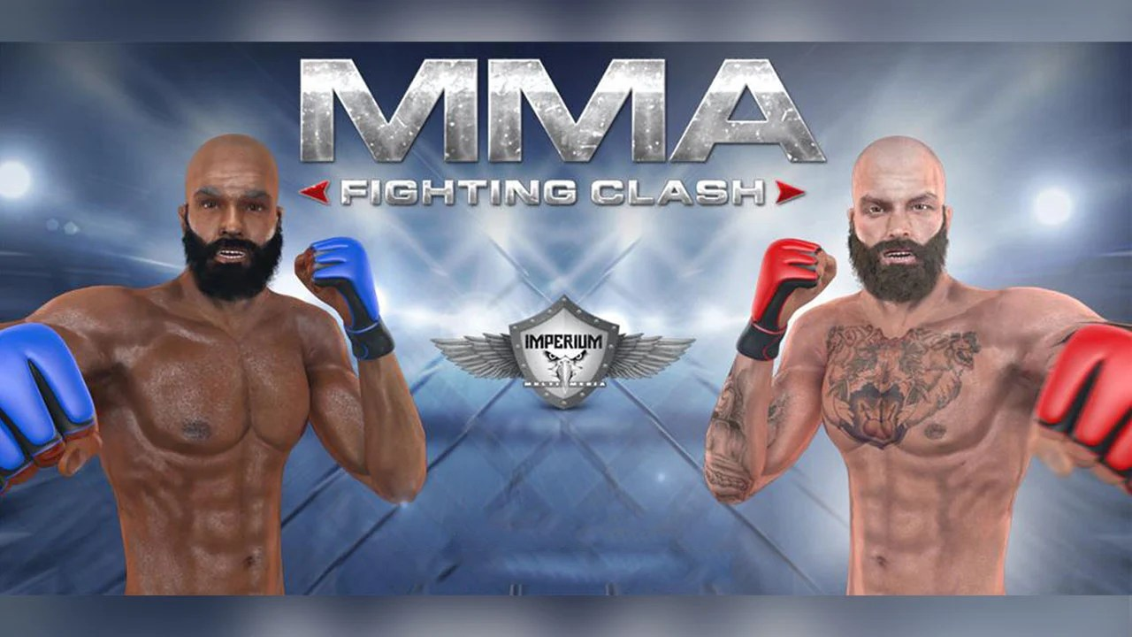 MMA Fighting Clash Poster