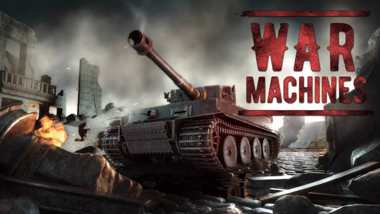 Posters of war machines