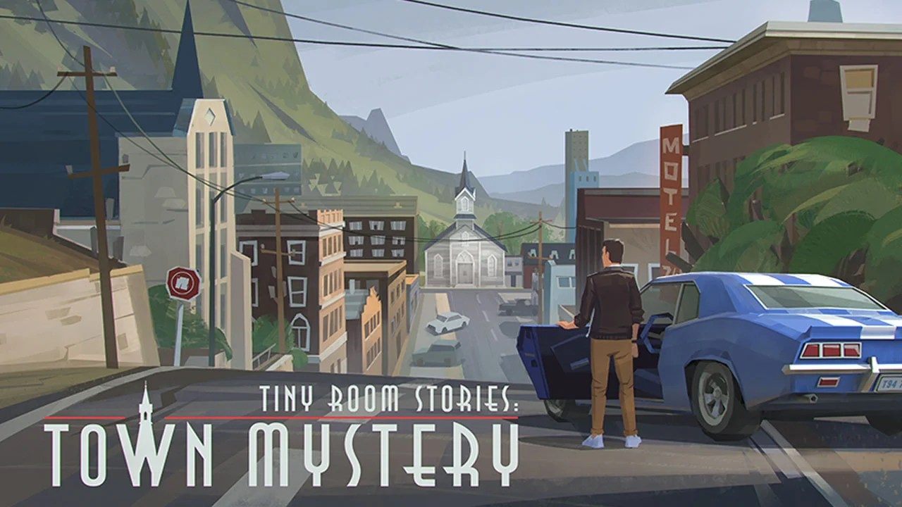 Small room stories town mystery poster