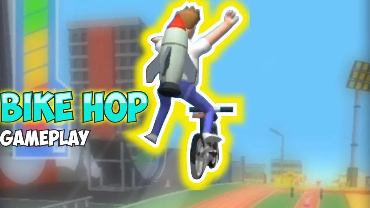 Bike Hop Poster
